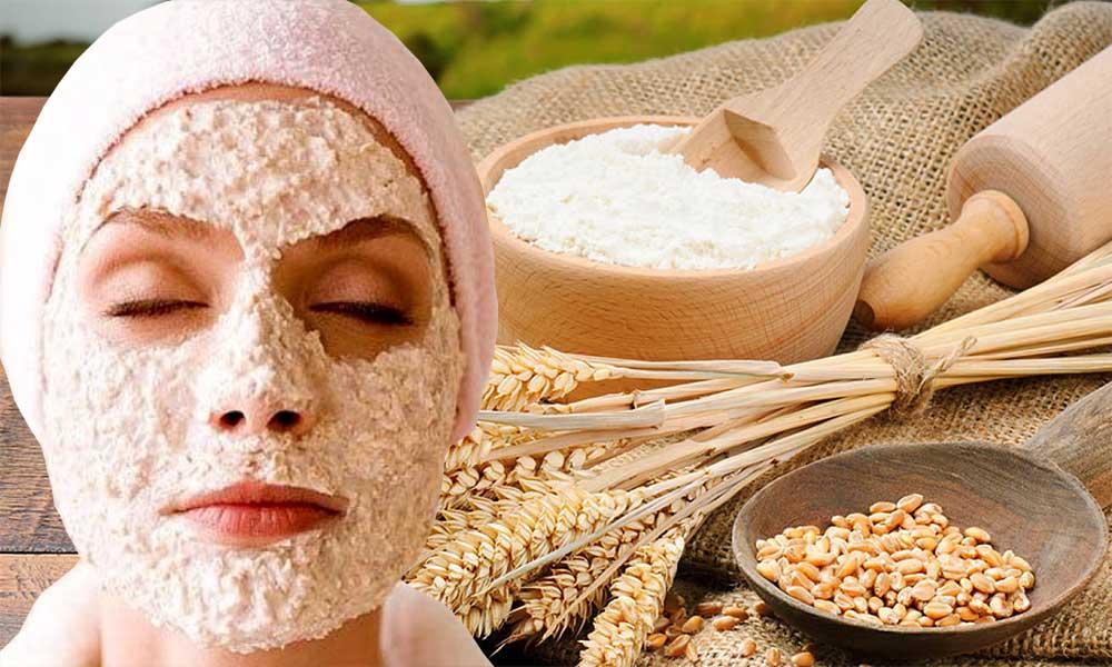 ماسک جوانه گندم و درمان جوشهای صورت