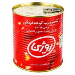 خرید اینترنتی و سریع رب گوجه فرنگی روژین تاک مقدار 800 گرم