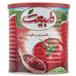 خرید اینترنتی و فوری کنسرو رب گوجه فرنگی طبیعت مقدار 800 گرم