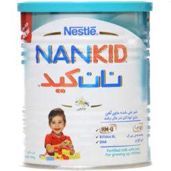 بررسی و خرید فوری شیر غنی شده نستله سری نان کید با طعم وانیل - 400 گرم
