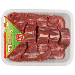 گوشت لذیذ گردن گوسفندی پویا پروتئین وزن 1 کیلوگرم