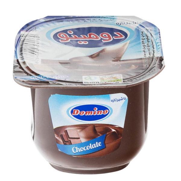 خرید شگفت انگیز دسر شکلاتی دومینو مقدار 100 گرم