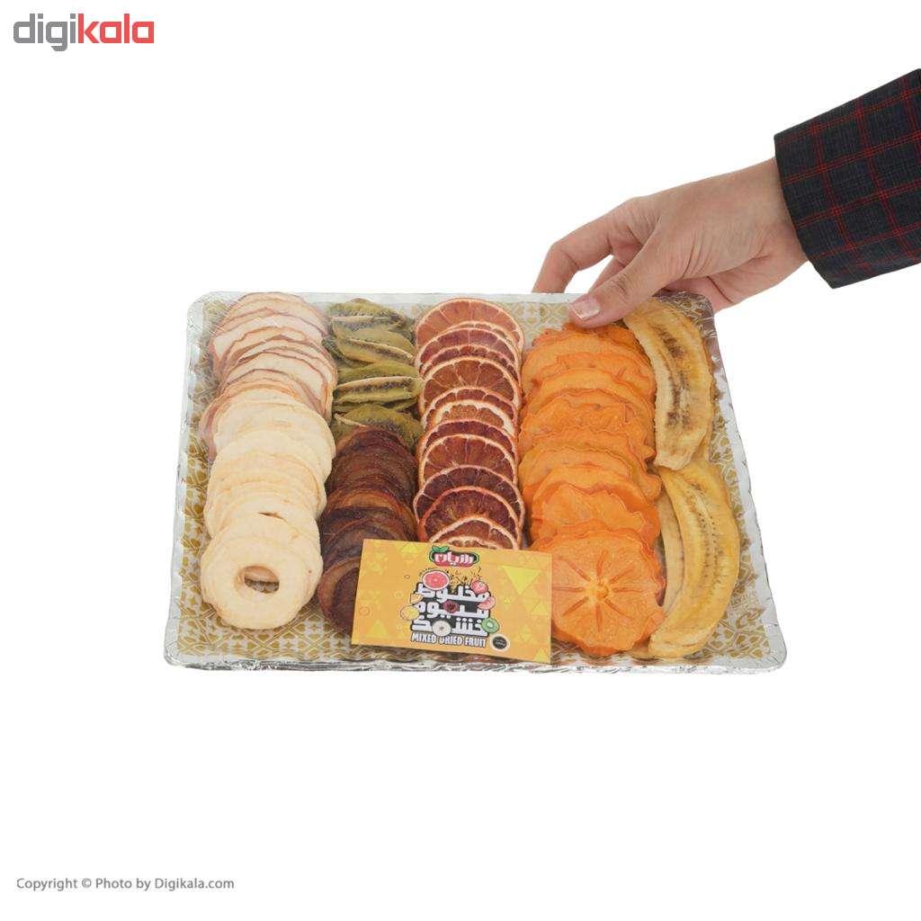 مشخصات و لیست قیمت میوه خشک مخلوط رازیان - 250 گرم